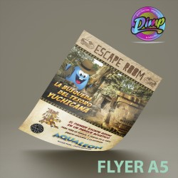 Flyer A5 -  Medida 150x200 mm.
