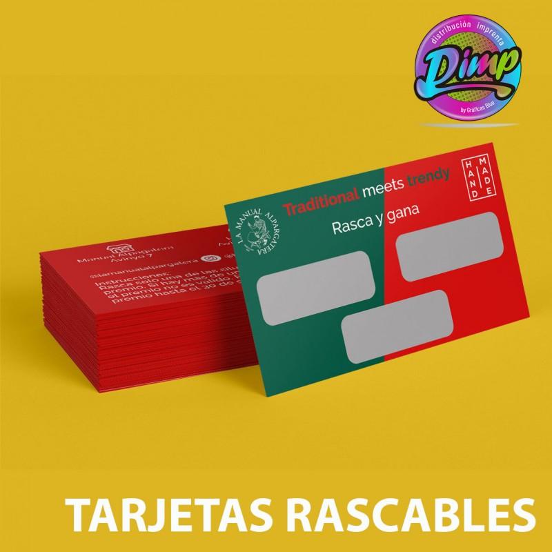 500 Tarjetas Rascables