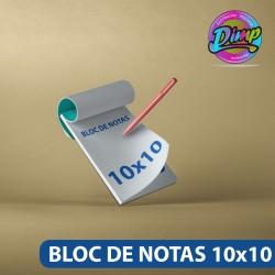 Bloc de Notas 10x10cm