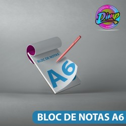 Bloc de Notas A6