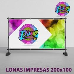 Lona Impresa 200x100