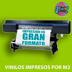 Vinilos impresos por m2