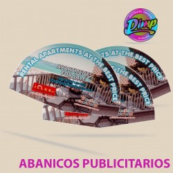 1000 ABANICOS PUBLICITARIOS