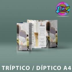 Trípticos / Díptico A4