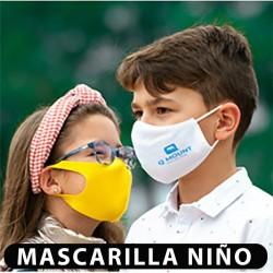 MASCARILLA NIÑO REUTILIZABLE (personalizada)