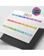 Impresión online de calendarios I Distribución imprenta