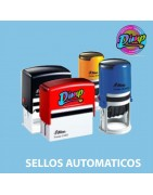 Sellos automáticos baratos . distribución imprenta