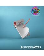 Imprimir Blocs de notas personalizados I Distribucionimprenta.com